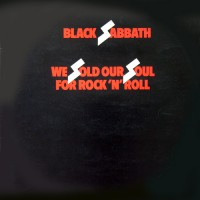 Black Sabbath - We Sold Our Soul For Rock 'N' Roll, UK