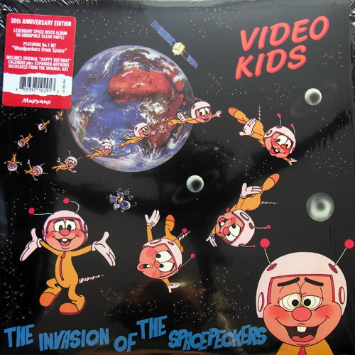 Video Kids - The Invasion Of The Spacepeckers, EU