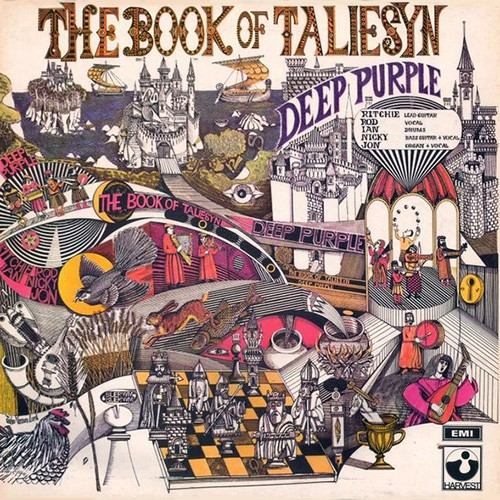 Deep Purple - Book Of Taliesyn, UK (2nd)