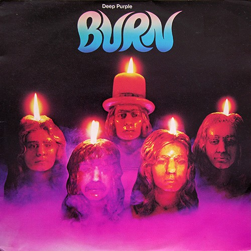 Deep Purple - Burn, UK