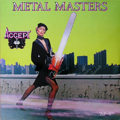 Accept - Metal Masters, D