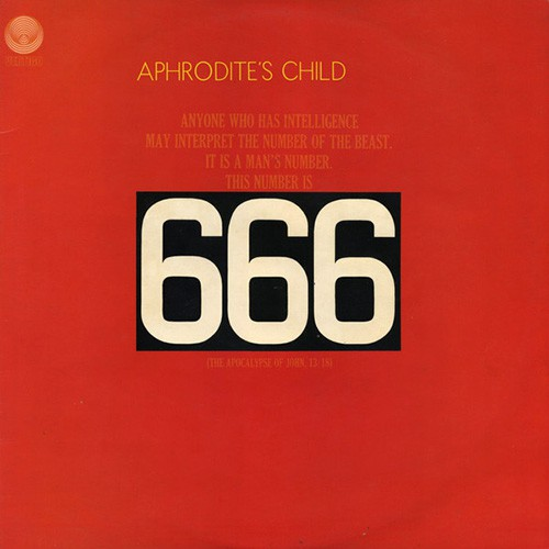 Aphrodite's Child - 666, UK (Re)
