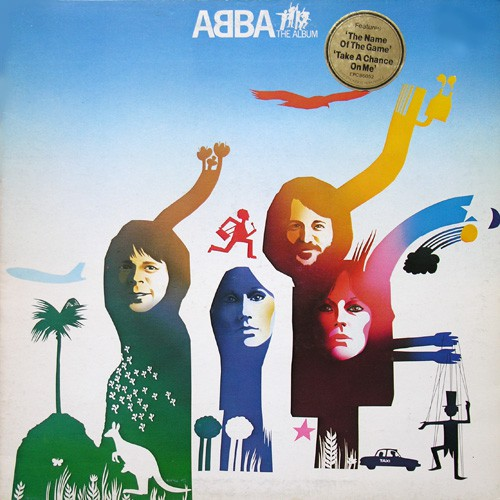 ABBA - The Album, UK (Or)