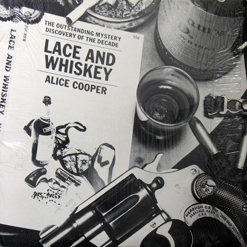 Alice Cooper - Lace And Whiskey, US (Or)
