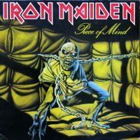 Iron Maiden - Piece Of Mind, UK