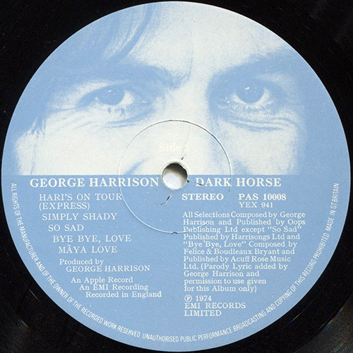 These images will help you understand the word(s) george harrison dark horse logo in detail