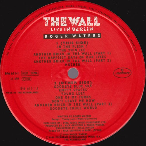 Roger waters - the wall live in berlin 1990 2003 flac