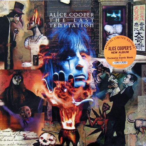 Alice Cooper - The Last Temptation, EU (Limited Ed.)