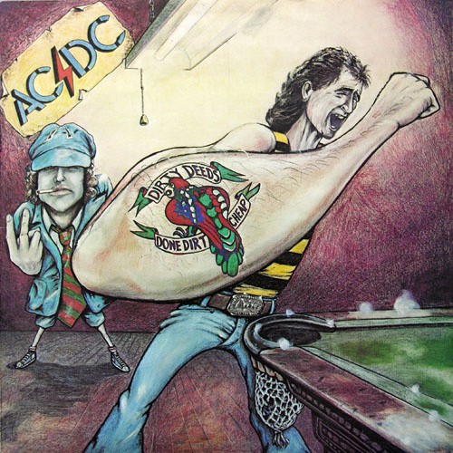 AC/DC - Dirty Deeds Done Dirt Cheap, AUSTRALIA (Re_80))