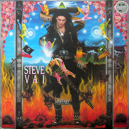 Vai Steve - Passion And Warfare, UK