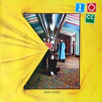 10cc - Sheet Music, UK (Or)