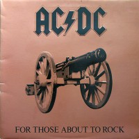 AC/DC - For Those About To Rock, UK