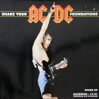 AC/DC - Shake Your Foundations, EU