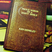 Hensley, Ken - Proud Words On A Dusty Shelf, D