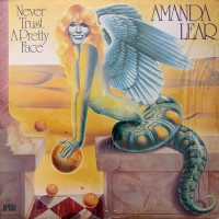Amanda Lear - Never Trust A Pretty Face, UK
