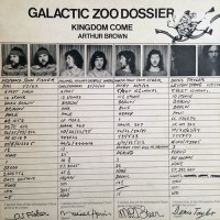 Arthur Brown's Kingdom Come - Galactic Zoo Dossier, UK